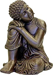BLUE RIBBON PET PRODUCTS EE-488 Exotic Environments Resting Buddha Statue