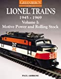 Greenberg's Guide to Lionel Trains, 1945-1969, Paul V. Ambrose, 0897785037