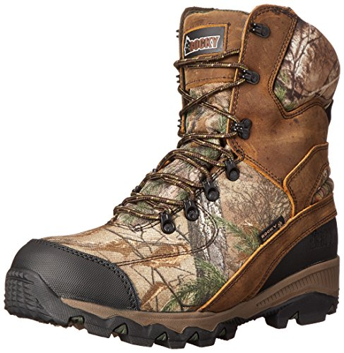 UPC 883802859911, Rocky Men's 8 Inch Adaptagrip 1000G Hunting Boot, Realtree Extra, 11 M US