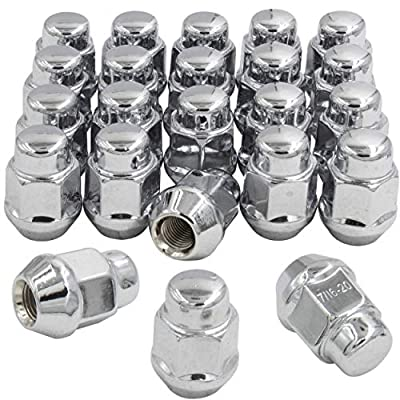 Wheel Accessories Parts Set of 23 (for Jeep) 1/2-20 Chrome 1.38