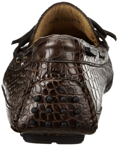 Cole Haan uomini concedere camp di canoa Mocassin Loafer Slip-On,Chestnut Croco,11 W US