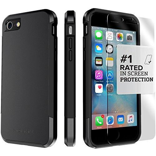 iphone-7-case-black-dual-layer-inspire-saharacase-protective-kit-bundle-with-zerodamage-tempered-gla
