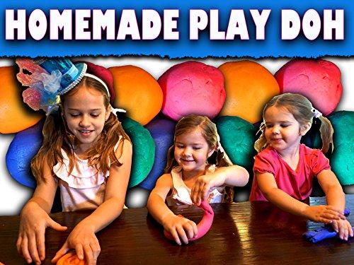 How to make Easy Homemade Play Doh/No -