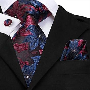 HYCZJH Corbatas de Seda para Hombre, 8.5 cm de Ancho, a Cuadros, a ...