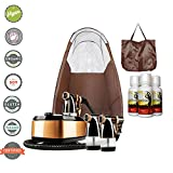 MaxiMist Allure Xena HVLP Spray Tanning System with Pop Up Tan Tent Brown Review