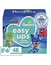 Pampers Toddler Training Underwear for Toddlers, Easy Ups Diapers, Training Pants for Boys and Girls