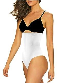 c18c4ab3714a0 ShaperQueen 102 Thong (Open Crotch) Womens Waist Cincher Shaper Trainer  Girdle Faja Tummy Control