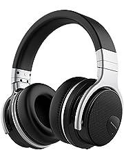 Casque Bluetooth sans Fil,Mighty Rock E7 Over-Ear Bluetooth Casque Audio avec Micro, 30 Heures Jeux Continu, Hi-Fi Audio Basse Profonde, Coussinets Doux, pour Smartphone/PC/TV
