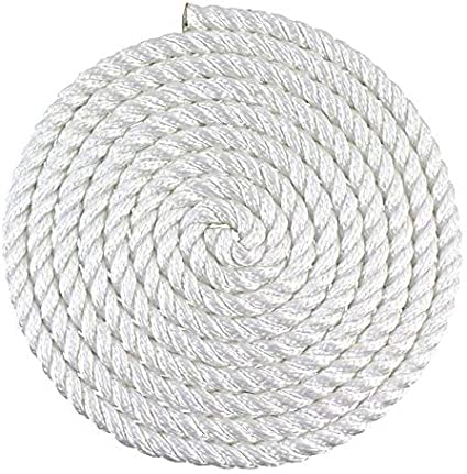 Multipurpose Utility Line for Crafts and Heavy Load Uses SGT KNOTS Twisted Nylon Rope 1//4 x 1000ft, White