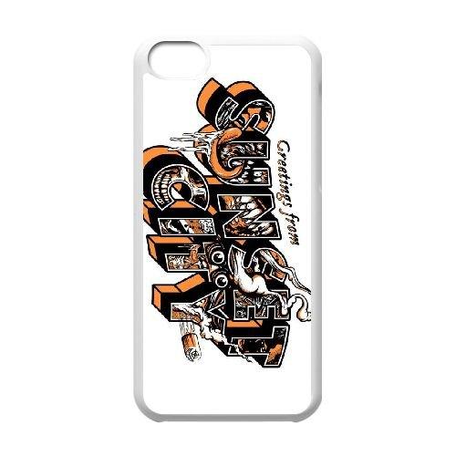 Sunset Overdrive 19 coque iPhone 5c cellulaire cas coque de téléphone cas blanche couverture de téléphone portable EEECBCAAN05904