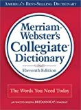Merriam-Webster's Collegiate Dictionary, 11th Edition (Red Kivar Binding with Jacket)