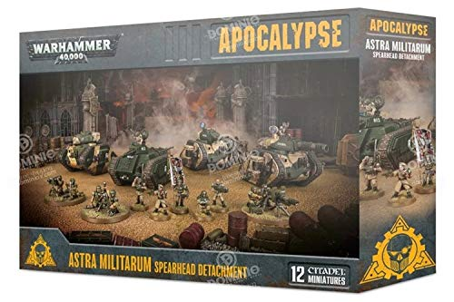 Warhammer 40K: Astra Militarum Spearhead Detachment