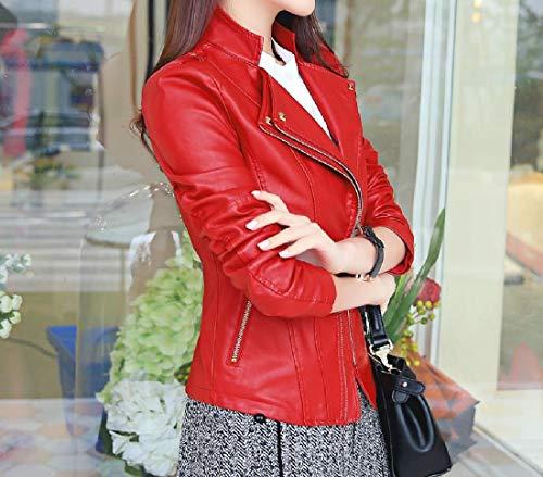 Donne As1 Della Mini Sottile Zip Casuale Delle manica Giacca Lungo Xinheo Involucro Cappotto Outwear 7qcfgRpT