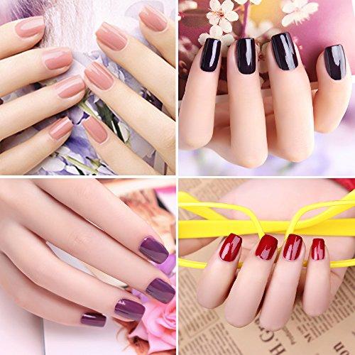 Amazon.com : Candy Lover New Soak Off UV Led Gel Nails Polish 8ml ...