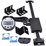Yescom 6'' Remote Digital DRO Quill Large LCD Readout Scale Measure Range 0-6'' Vertical for Bridgeport Mill Lathe