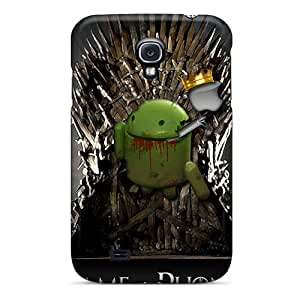 New Game Of Phones Tpu Case Cover, Anti-scratch IYpTs6276iCRCl Phone Case For Galaxy S4