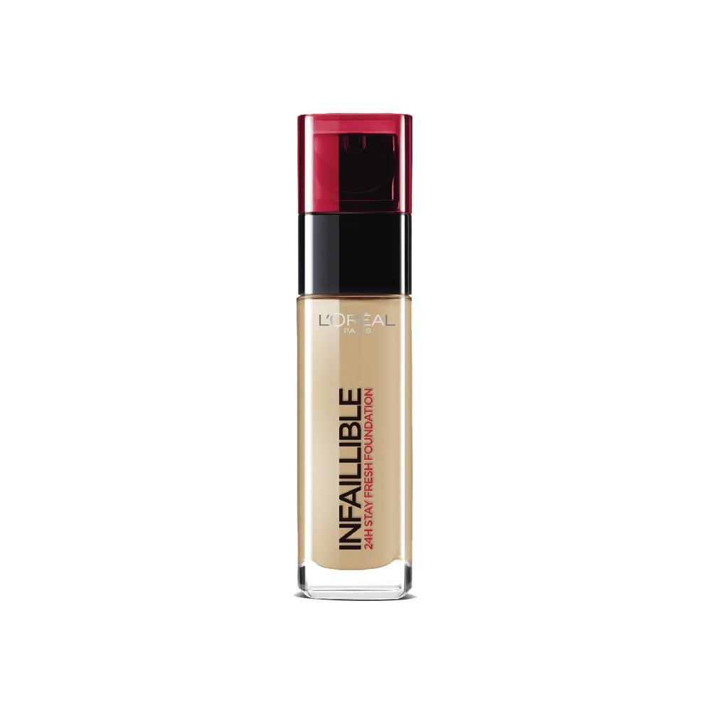 L'Oréal Paris 24H Infallible Foundation, Golden Sand 30 ml Number 200 L'OREAL PARIS 3600522690368