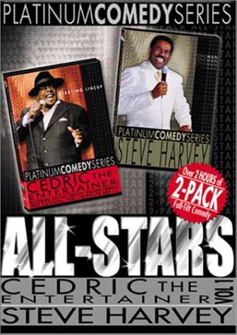 Platinum Comedy Series All Stars - Cedric the Entertainer Starting Lineup 1 / Steve Harvey One Man (The Steve Harvey Show Dvd)