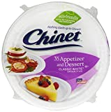Chinet Cut Crystal Dessert Plate - 6.75 in - 35 ct