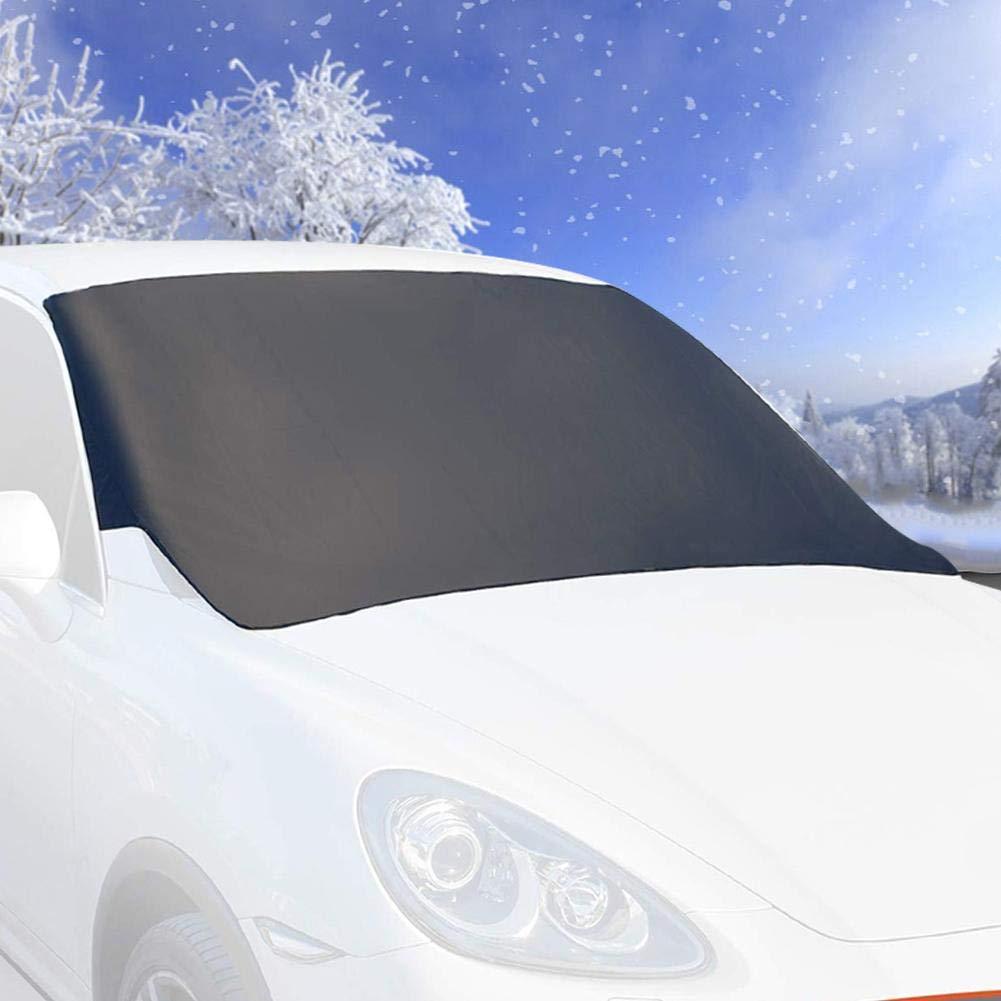 Binwe Parabrezza da Neve per Auto Parabrezza antigelo antigelo parapolvere Impermeabile Protezione Parasole Protezione per Auto Camion SUV