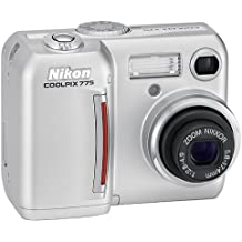 Nikon Coolpix 775 2MP Digital Camera with 3x Optical Zoom