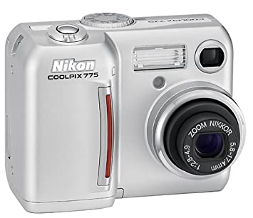amazon com nikon coolpix 775 2mp digital camera with 3x optical rh amazon com nikon coolpix 775 specifications nikon coolpix 775 user manual