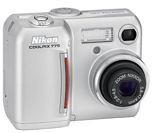 Nikon Coolpix 775 2MP Digital Camera with 3x Optical Zoom (Coolpix Megapixels 2 Nikon)