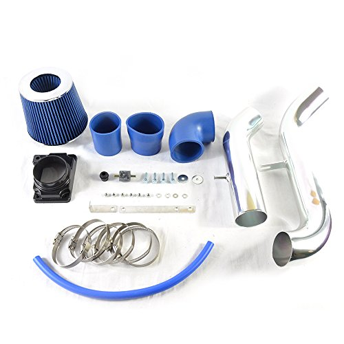 Intake Pipe Performance Cold Air Intake Induction Kit With Filter For Mitsubishi Eclipse 1999 2000 2001 2002 2003 2004 2005 2.4L/3.0L(blue)