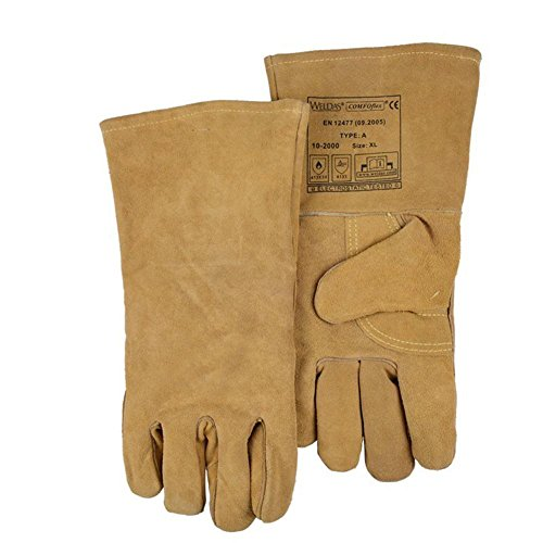 General high temperature 250 degrees heat insulation cutting welding gloves welding fire retardant soft and comfortable labor protection products by LIXIANG (Image #7)