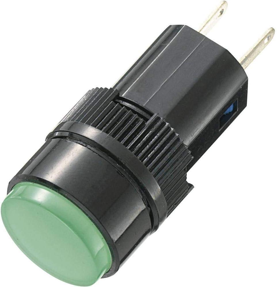 AC und DC Kontrollleuchte Signalleuchte Signallampe Rot Gelb Grün 12//24//220V