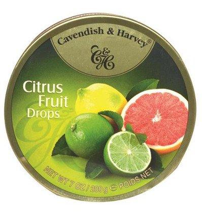 - Cavendish & Harvey Citrus Fruit Drops 200g QUALITY BRITISH FOOD 0102