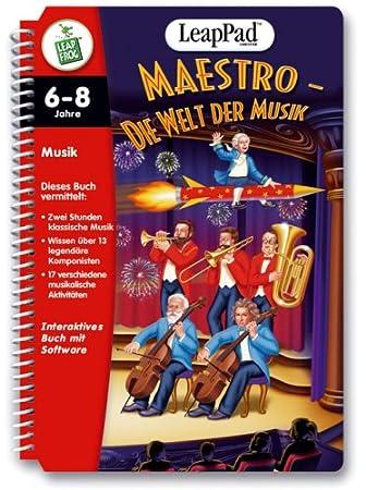 Kindercomputer Leap Pad Interaktives Buch mit 2 Spielen Leapfrog