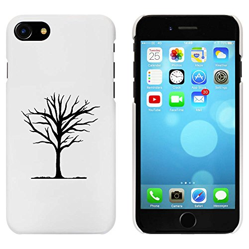 Blanc 'Arbre d'Hiver' étui / housse pour iPhone 7 (MC00073874)