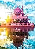 世界の美しい色の建築
