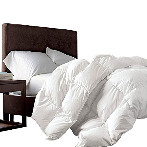 "Super King Oversized California King Down Alternative Comforter (120"" x 98"") 116 Ounces of Fill"