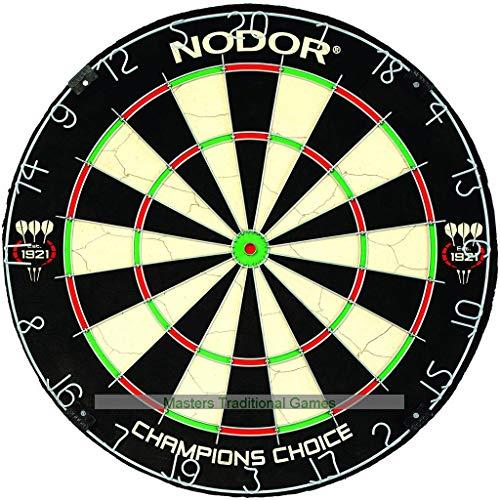 Nodor Champions Choice Dartboard (with Mini-Bullseye)