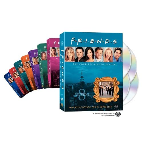 Friends - The Complete First Eight Seasons (8-Pack) movie