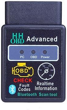 Kit Diagnosi ELM327 V2.1 Bluetooth OBD2 II Auto Diagnostic Scanner Auto ELM 327