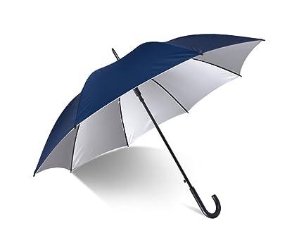 HCJYS JCRNJSB® Paraguas, barra recta Paraguas largo A prueba de viento Refuerzo de sombra