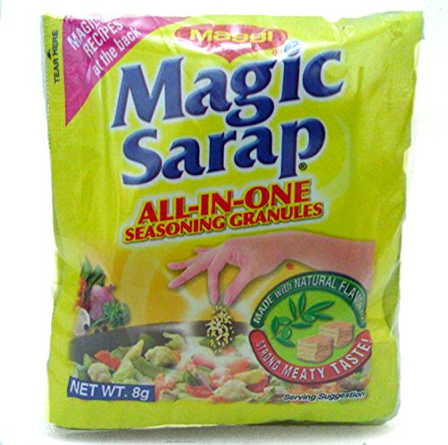 5 PACKS Maggi Magic Sarap Philippines All-in-One Seasoning Granules (12PCS/PACK) by Nestle, Inc.