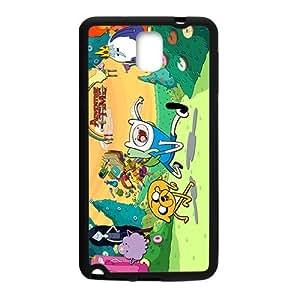 Adventure Time Samsung Galaxy NOTE 3 Case Black Phone Case