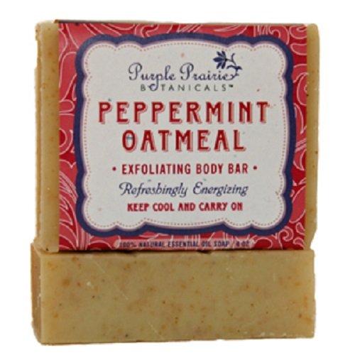 (Peppermint on Oatmeal Soap Bar - 3 Pack)