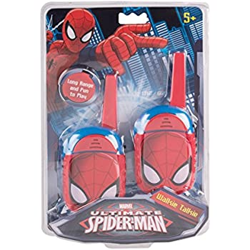 Amazoncom Marvel Spiderman Homecoming FRS Walkie Talkies Kid - Awesome video baby spiderman dancing