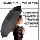 Kentwood Teflon Windproof Travel Umbrella (Grey) - Best Reviews Guide