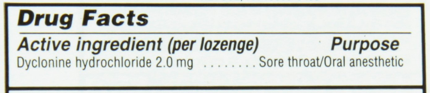 Sucrets Sore Throat Lozenges | Wild Cherry | Pain Relief | 18 CT by Sucrets (Image #2)