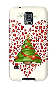 Sanp On Case Cover Protector For Galaxy S5 (merry Xmas)