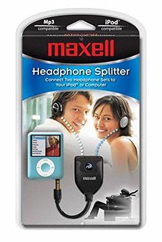 Maxell 191206 - P6 Universal Headphones Splitter