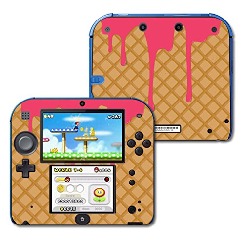 Nintendo Ds Strawberry (Mightyskins Protective Vinyl Skin Decal Cover for Nintendo 2DS wrap sticker skins Ice Cream Cone)