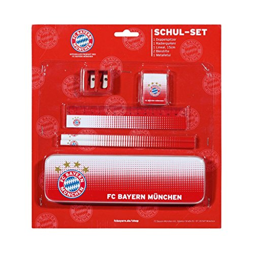 Schul Set FC Bayern München - FCB School Set / Conjunto de la escuela / Set école