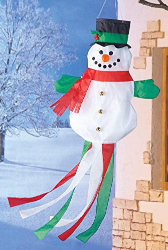 Decorated Snowman (Holiday Decorated Snowman Windsock)